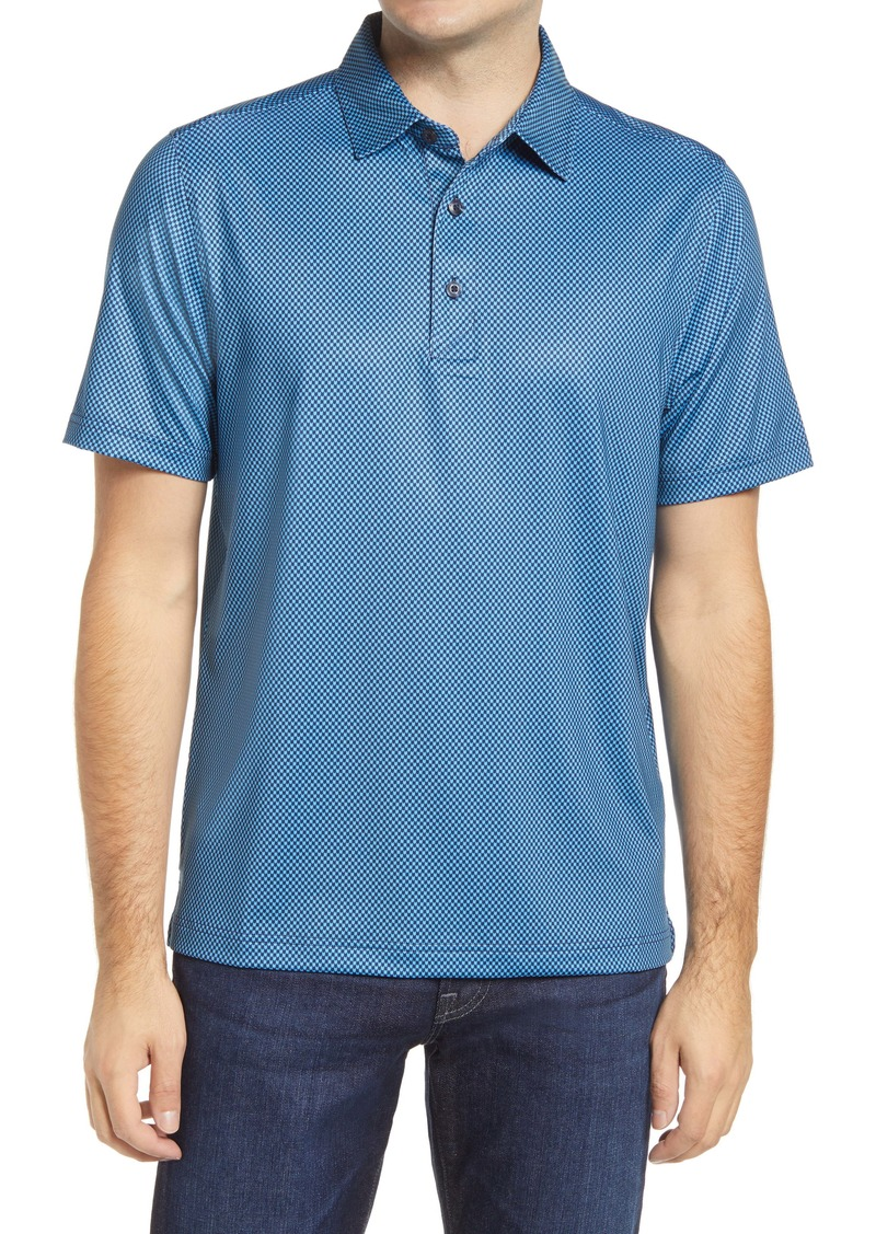 Cutter & Buck Pike Mini Pennant Print Polo