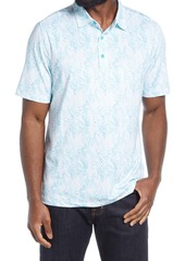 Cutter & Buck Pike Print Polo Shirt