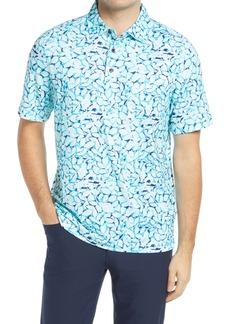 Cutter & Buck Pike Stretch Print Polo Shirt