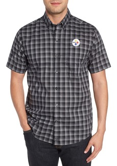 Cutter & Buck Pittsburgh Steelers - Fremont Regular Fit Check Sport Shirt