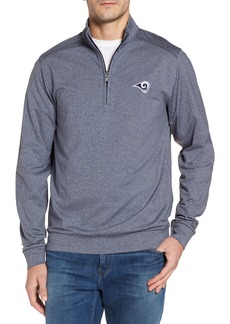 Cutter & Buck Rams Shoreline Quarter Zip Pullover