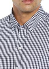 Cutter & Buck Regular Fit Gingham Non-Iron Sport Shirt