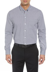 Cutter & Buck Regular Fit Gingham Non-Iron Sport Shirt