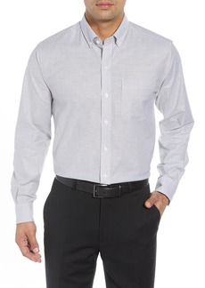 Cutter & Buck Regular Fit Stripe Stretch Oxford Shirt