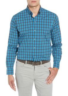 Cutter & Buck Ronald Regular Fit Plaid Performance Sport Shirt