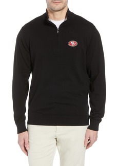 Cutter & Buck San Francisco 49ers - Lakemont Regular Fit Quarter Zip Sweater