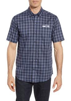 Cutter & Buck Seattle Seahawks - Fremont Regular Fit Check Sport Shirt