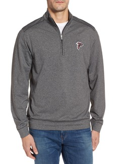 Cutter & Buck Shoreline - Atlanta Falcons Half Zip Pullover