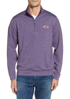 Cutter & Buck Shoreline - Baltimore Ravens Half Zip Pullover