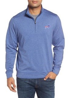 Cutter & Buck Shoreline - Buffalo Bills Half Zip Pullover