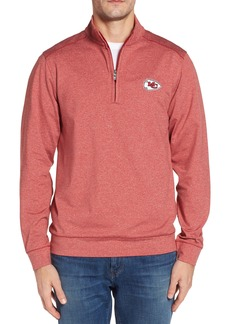 Cutter & Buck Shoreline - Kansas City Chiefs Half Zip Pullover