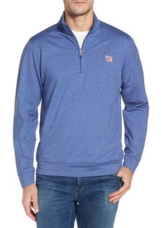 Cutter & Buck Shoreline - New York Giants Half Zip Pullover