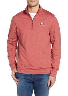 Cutter & Buck Shoreline - San Francisco 49ers Half Zip Pullover