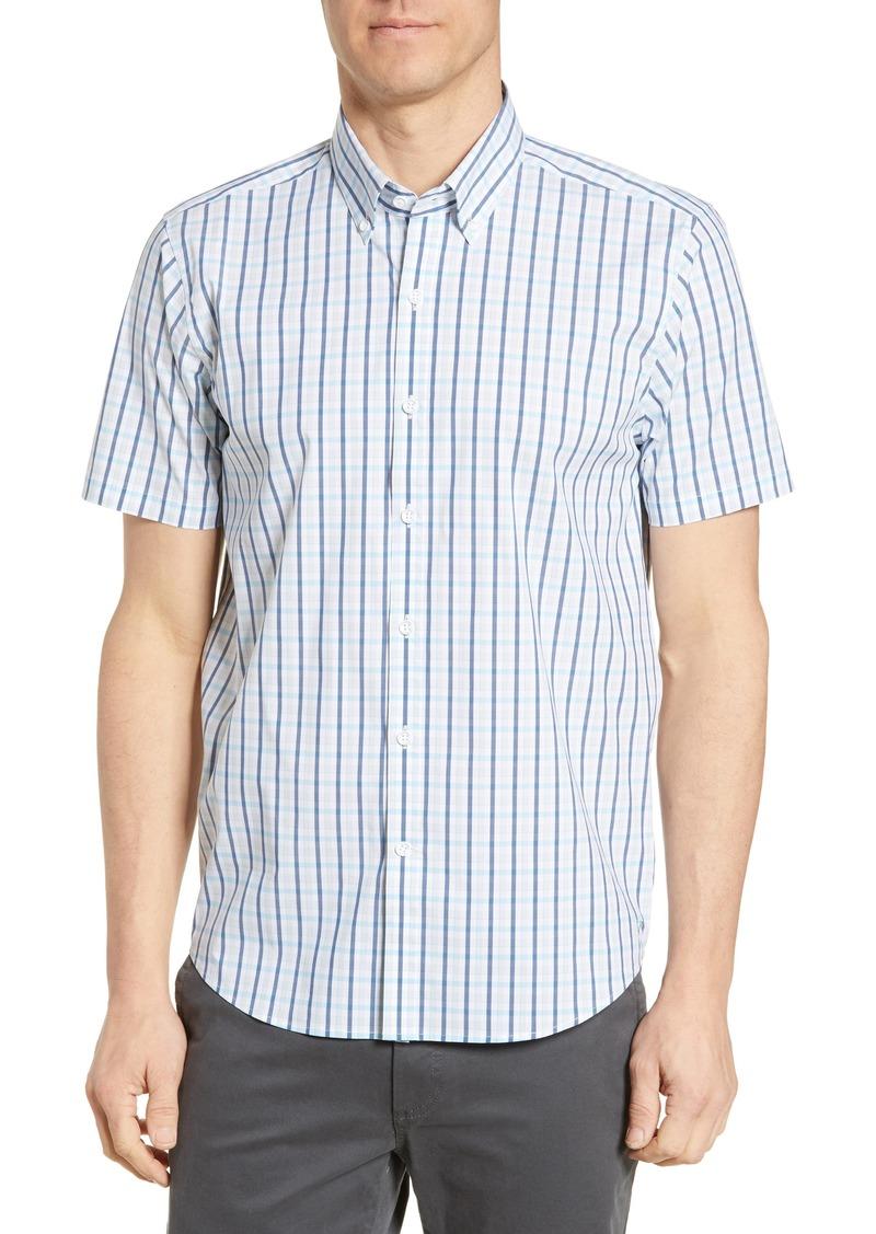 Cutter & Buck Soar Classic Fit Windowpane Shirt