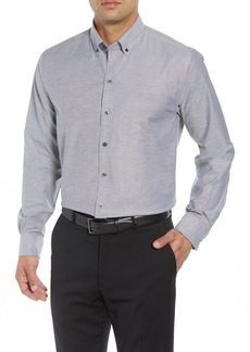 Cutter & Buck Tailor Regular Fit Oxford Sport Shirt