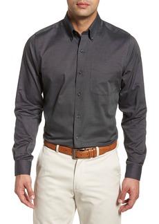 Cutter & Buck Tailored Fit Nail Head Sport Shirt