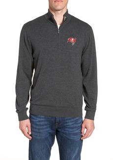 Cutter & Buck Tampa Bay Buccaneers - Lakemont Regular Fit Quarter Zip Sweater