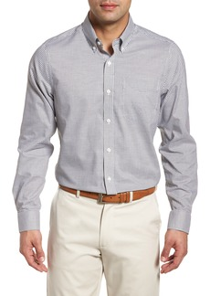 Cutter & Buck Tattersall Tailored Fit Non-Iron Sport Shirt