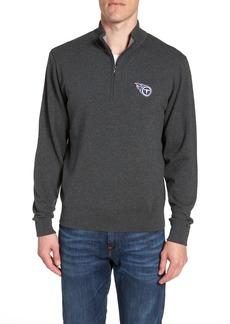 Cutter & Buck Tennessee Titans - Lakemont Regular Fit Quarter Zip Sweater