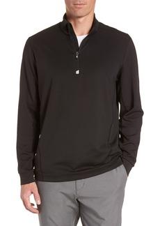 Cutter & Buck Traverse Regular Fit Quarter Zip Pullover
