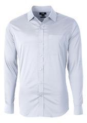 Cutter & Buck Versatech Geo Dobby Classic Fit Button-Down Performance Shirt