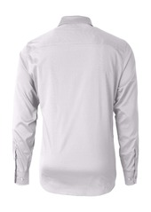 Cutter & Buck Versatech Geo Dobby Classic Fit Button-Up Performance Shirt