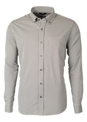 Cutter & Buck Versatech Multi Check Classic Fit Button-Up Performance Shirt