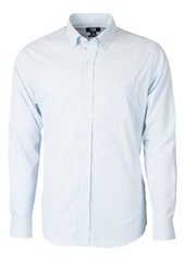Cutter & Buck Versatech Tattersall Classic Fit Button-Up Performance Shirt