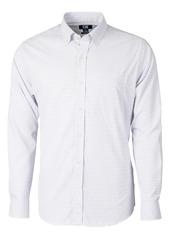 Cutter & Buck Versatech Tattersall Classic Fit Button-Up Performance Shirt