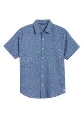 Cutter & Buck Windward Mineral Short Sleeve Button-Up Shirt