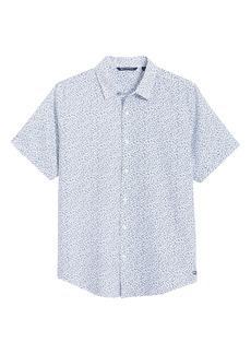 Cutter & Buck Windward Mineral Short Sleeve Button-Up Shirt