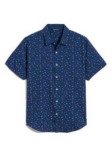 Cutter & Buck Windward Short Sleeve Button-Up Shirt