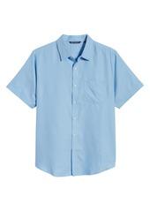 Cutter & Buck Windward Short Sleeve Twill Button-Up Shirt