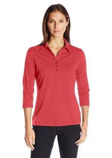 Cutter & Buck Women's CB Drytec 3/4 Sleeve Chelan Polo