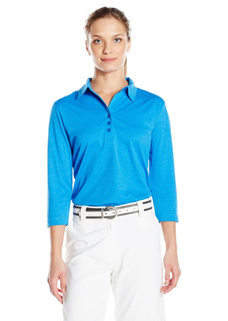 Cutter & Buck Women's Cb Drytec 3/4 Sleeve Chelan Polo  XL