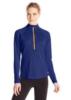 Cutter & Buck Women's CB Drytec Long Sleeve Anastasia Half-Zip