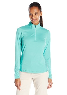 Cutter & Buck Women's CB Drytec Long Sleeve Madeline Half Zip Mock