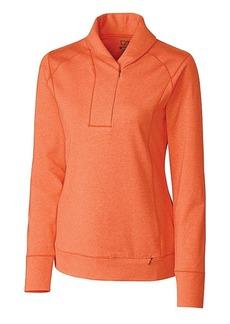 Cutter & Buck Women's CB Drytec Shoreline Half-Zip Pullover  S