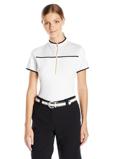 Cutter & Buck Women's Cb Drytec Short Sleeve Kyle Mock