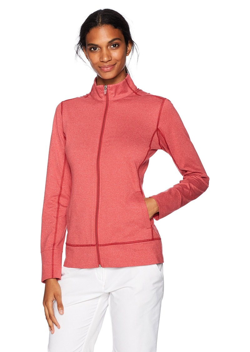 Cutter & Buck Women's CB Drytec Topspin Full Zip Jacket