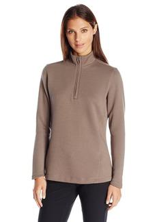Cutter & Buck Women's Decatur Pima Long Sleeve Half-Zip