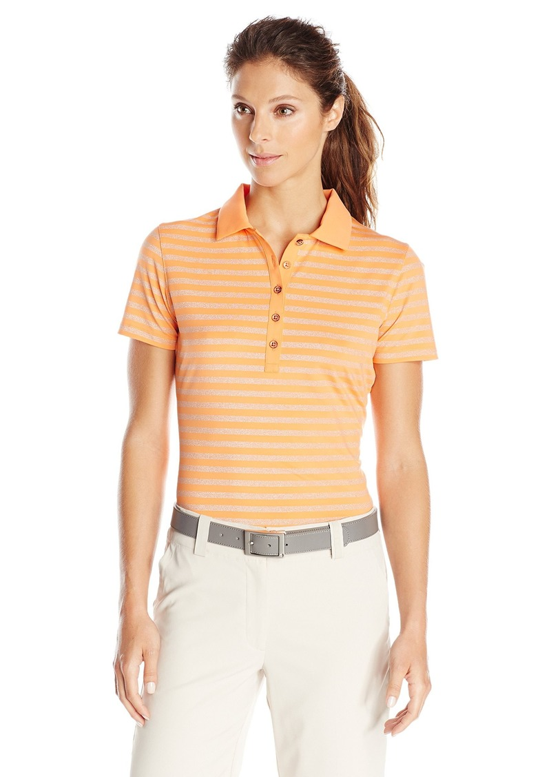 Cutter & Buck Women's Drttec Short Sleeve Adele Polo