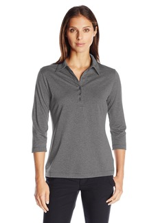 Cutter & Buck Women's Drytec 3/4 Sleeve Chelan Polo