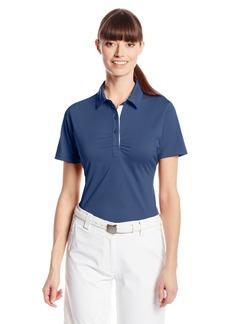 Cutter & Buck Women's Drytec Alder Short Sleeve Polo with Rouching