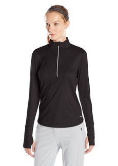Cutter & Buck Women's Drytec Long Sleeve Terrie Half Zip