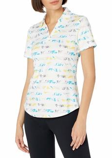 Cutter & Buck Women's Drytec UPF 50+ Short Sleeve Stretch Jersey Polo Shirt  XSmall