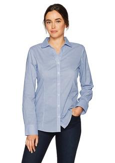 Cutter & Buck Women's Epic Easy Care Long Sleeve Tattersall Collared Shirt  XXXL