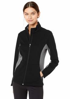 Cutter & Buck Women's Long Sleeve Full Zip Lightweight Navigate Softshell Jacket  S
