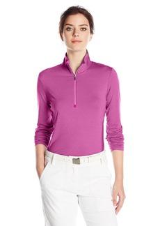 Cutter & Buck Women's Madeline Half Zip Mock Pullover  L
