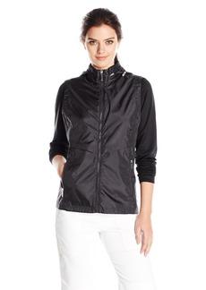 Cutter & Buck Women's Moisture Wicking 50+ UPF Lightweight Ava Hybrid Zip Jacket